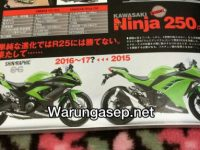 ninja 250cc 4 silinder dari young machine