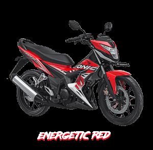 2017 Honda Sonic 150R Merah