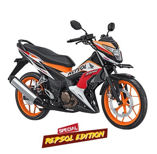 2017 Honda Sonic 150R Special Repsol Edition