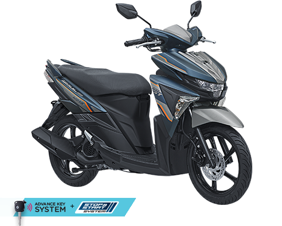 2017 Yamaha All New SOul GT AKS SSS Biru