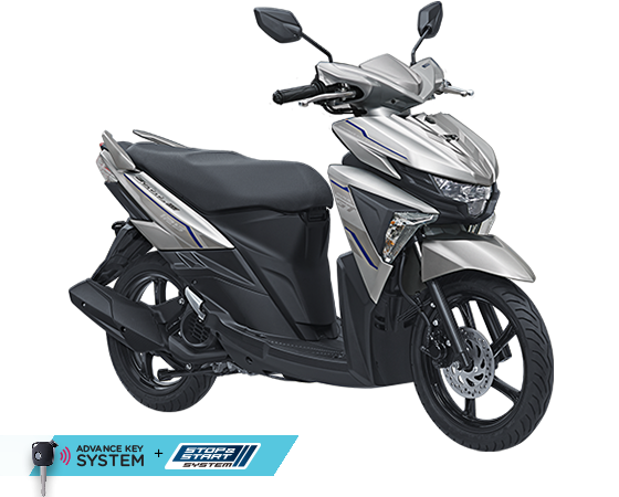 2017 Yamaha All New SOul GT AKS SSS Silver
