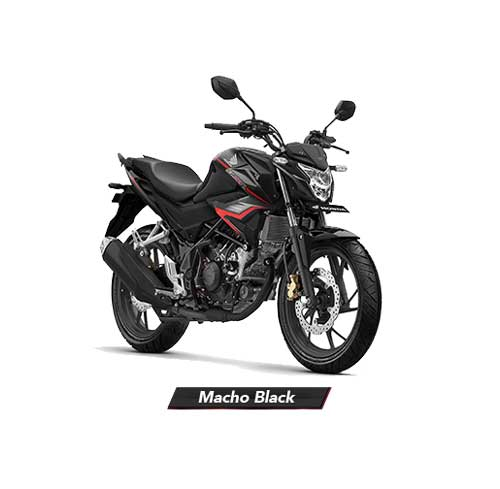All-New-CB150R-Macho-Black-Hitam-2018-2019