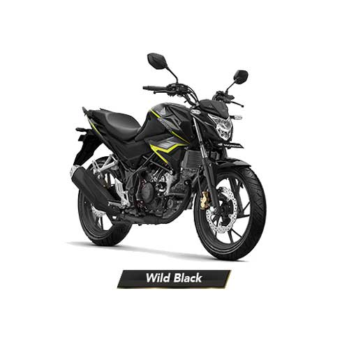 All-New-CB150R-Wild-Black-Hitam-2018-2019