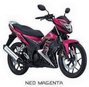 All New Honda Sonic 150R Magenta