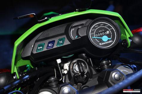 Dashboard Kawasaki D-tracker Facelift Terbaru 2015