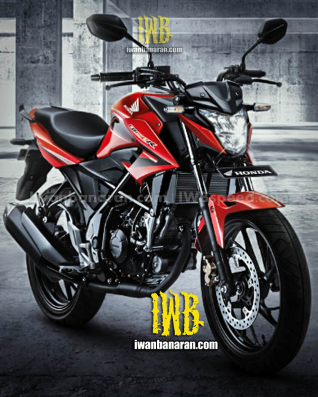 Foto Penampakan All New Honda CB150R merah