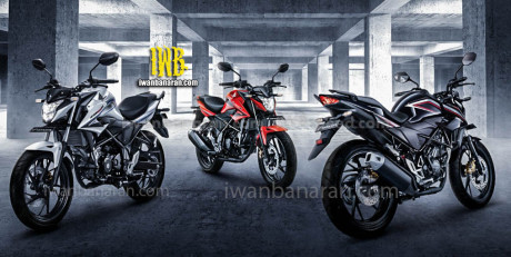 Foto Penampakan Pilihan warna All New Honda CB150R