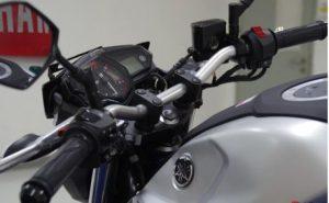 Harga Stang Yamaha MT 25, Obat Bosan Pake Setang Bawaan