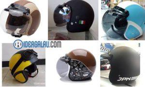 9 Daftar Harga Produk Helm Bogo Retro Model Terbaru