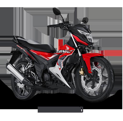 Honda Sonic 150 Honda Energetic Red 2017 2018