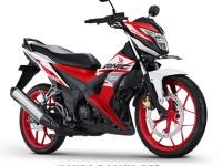 Honda Sonic 150 Honda Racing Red 2017 2018