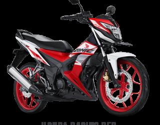 Honda Sonic 150 Honda Racing Red 2017 2018