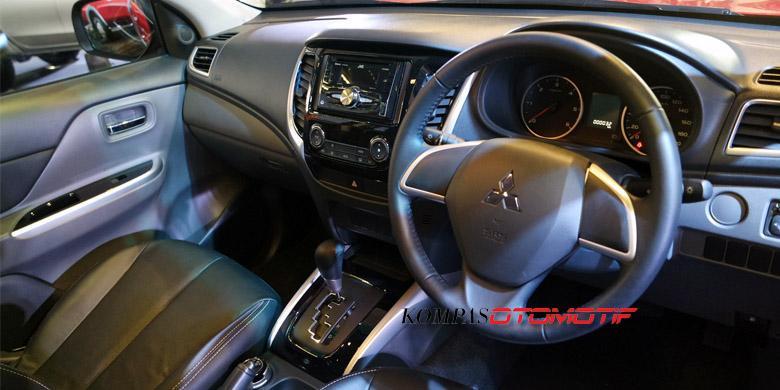 Interior All New Mitsubishi Strada Triton