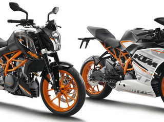 KTM Duke 250 dan KTM RC 250