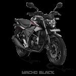 Pilihan Warna Honda All New CB150R hitam