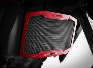 Radiator cover honda all new cb150r