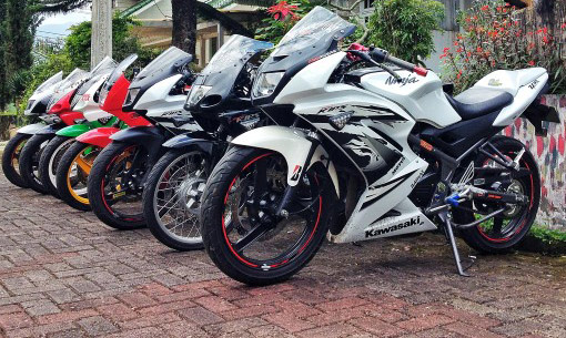 ide modifikasi ninja 150 rr super kips