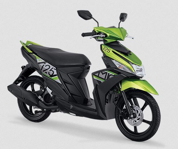 Yamaha Mio M3 2017 Active green - Hijau