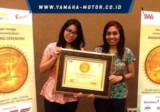 Yamaha V-Ixion Mengantongi Penghargaan Word of Mouth Marketing Award Kategori Sport 2015