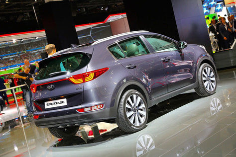 All-New Kia Sportage 2016 Abu