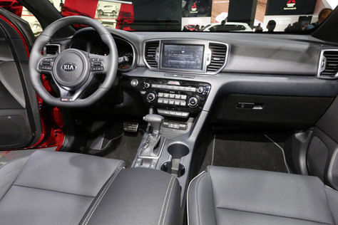 Dashboard All-New Kia Sportage 2016