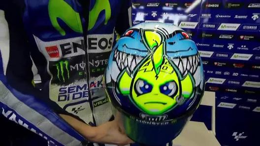 Desain Baru Helm AGV Valentino Rossi 1
