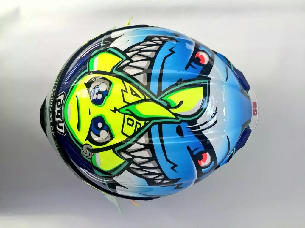 Desain Baru Helm AGV Valentino Rossi 3
