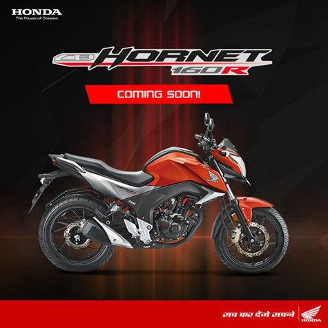 Honda CB Hornet 160R 2