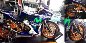 Koleksi Aksesoris Yamaha R25 Siap Pakai