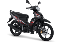 Pilihan warna dan Striping Yamaha Vega Force 2017 Hitam
