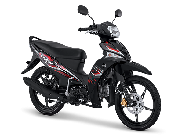 Pilihan warna dan Striping Yamaha Vega Force 2017 Hitam