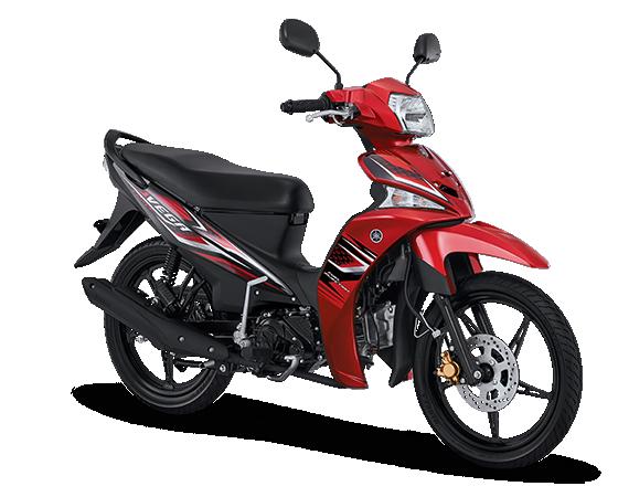 Pilihan warna dan Striping Yamaha Vega Force 2017 Merah
