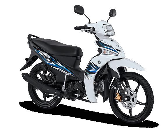 Pilihan warna dan Striping Yamaha Vega Force 2017 Putih