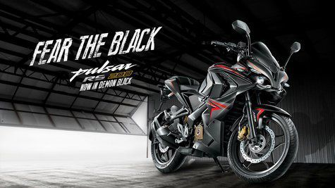 Pulsar RS 200 Black Edition 2