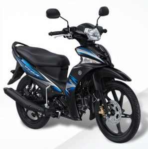 Striping yamaha vega force biru fushion blue