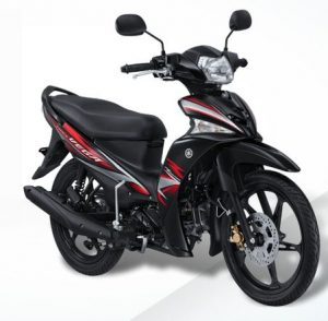 Striping yamaha vega force hitam elite black