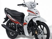 Striping yamaha vega force putih energetic white