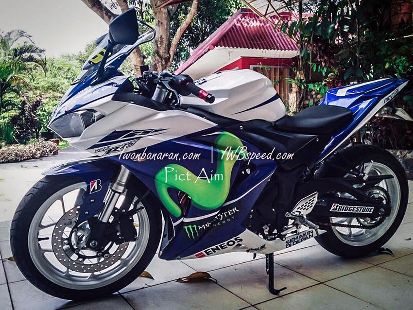 Yamaha R25 pake Upside Down Yamaha R125 1