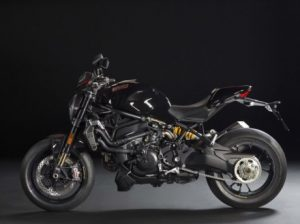 mega galeri foto new ducati monster 1200r hitam 1
