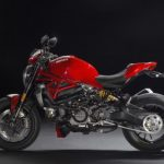 mega galeri foto new ducati monster 1200r merah 1