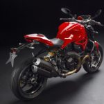 mega galeri foto new ducati monster 1200r merah 2