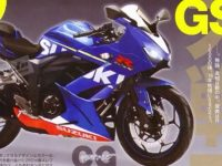 motor sport full fairing 250cc suzuki di majalah young machine