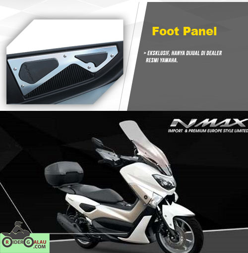 Aksesoris Ori Yamaha Nmax - Foot Panel