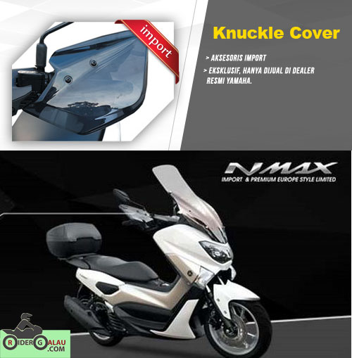 Aksesoris Ori Yamaha Nmax - Knuckle Cover