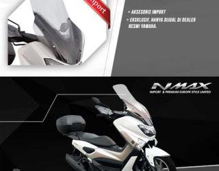 Aksesoris Ori Yamaha Nmax - Middle Screen atau visor