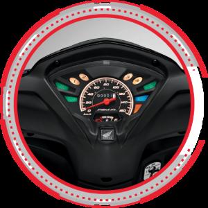Dashboard Honda Revo FI