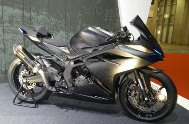Honda CBR250RR Super Light Weight Concept 2 silinder terbaru
