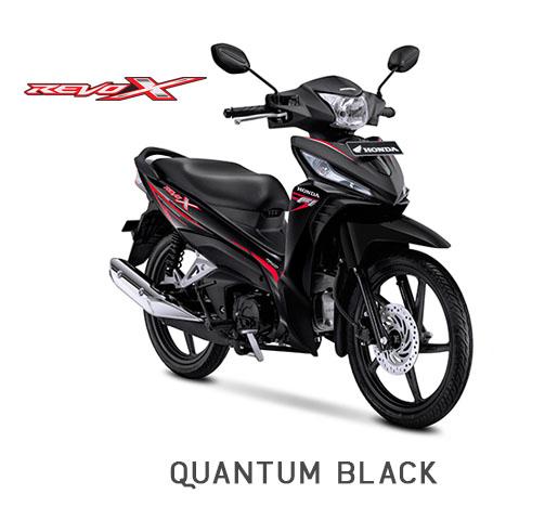Honda Revo X Hitam Quantum Black 2018