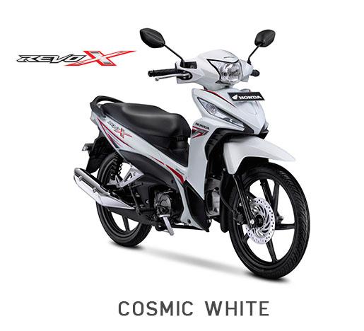 Honda Revo X Putih Cosmic White 2018