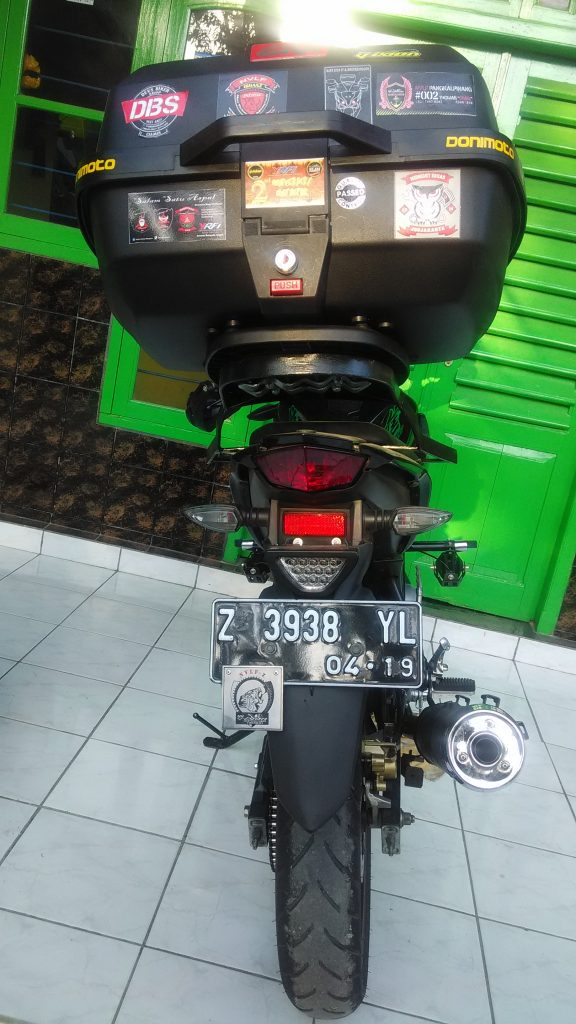 modifikasi new vixion pakai box motor